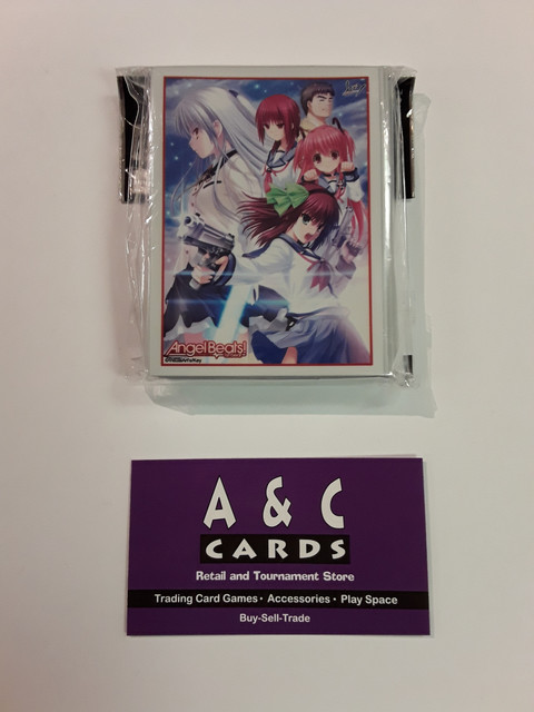 Angel Beats! #2 - 1 pack of Standard Size Sleeves 60pc. - Angel Beats!