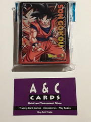 Son Goku #1 - 1 pack of Standard Size Sleeves 65pc. - Dragon Ball Super