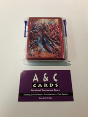 Supreme Heavenly Emperor Dragon, Dragonic Overlord the Ace - 1 pack of Mini Sized Sleeves 70pc - Cardfight! Vanguard