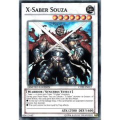 X-Saber Souza - CT09-EN017 - Super Rare - Limited Edition