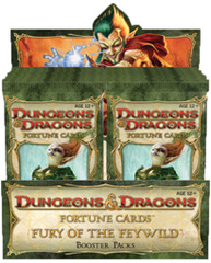D&D Fortune Cards Fury the the Feywild Display Box 24 Packs