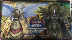 Guardian Eatos / Guardian Dreadscythe DRAGON DUEL Playmat World Championship Qualifier 2014