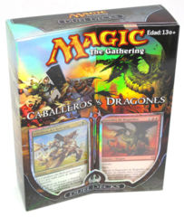 Duel Deck - Knights vs. Dragons SPANISH