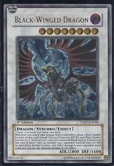 Black-Winged Dragon TSHD-EN040 - Ultimate Rare - Unlimited on Channel Fireball
