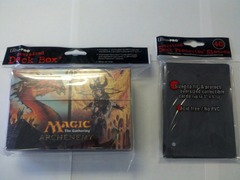 Oversized Planechase / Archenemy Deck Box & Sleeves Combo