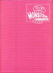 Monster Binder - Pink
