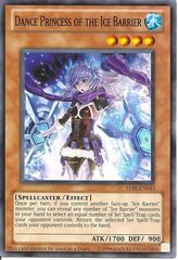 Dance Princess of the Ice Barrier STBL-EN033 Oversized 5x8 on Channel Fireball