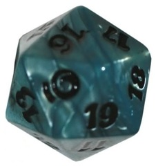 Blue 20-Sided From the Vault: Relics Life Counter Dice/Die