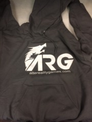 ARG Charcoal Hooded Sweatshirt