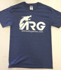 ARG Vintage Heather Navy T-Shirt