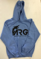 ARG Light Blue (Black Letters) Hooded Sweatshirt