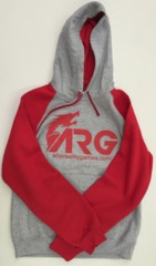 ARG Red/Gray Hoodie