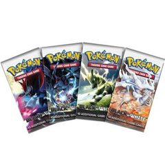 Black and White Sealed Booster Pack
