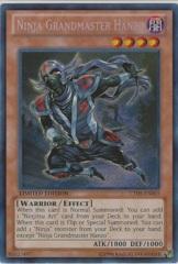Ninja Grandmaster Hanzo - CT09-EN003 - Secret Rare - Limited Edition