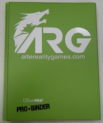 ARG Ultra Pro Pro-Binder-Light Green w/ White Logo