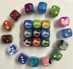 ARG Logo/Website Die -  Dice (Random Color)