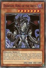 Diabolos, King of the Abyss - GLD4-EN018 - Common - Limited Edition on Channel Fireball