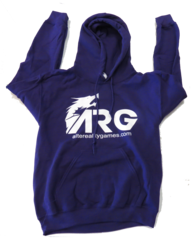 ARG Purple Hooded Sweatshirt