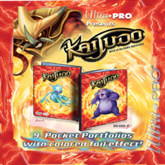 Ultra Pro Kaijudo 9 Pocket Portfolio Scaradorable/Gargle 86501