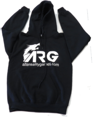 ARG Black Hooded Sweatshirt