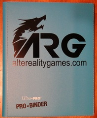 ARG Ultra Pro Pro-Binder-Light Blue w/ Black Logo