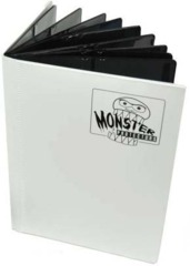 Monster Binder - Matte White 9 pocket