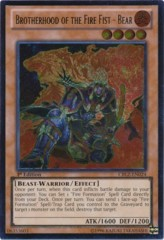 Brotherhood of the Fire Fist - Bear - CBLZ-EN024 - Ultimate Rare - 1st Edition