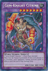 Gem-Knight Citrine - HA06-EN019 - Secret Rare - 1st Edition