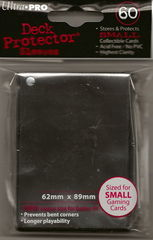 Ultra Pro Black (60) Fitted YuGiOh Deck Protectors