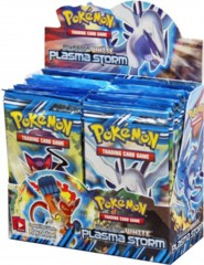 Black & White Plasma Storm Booster Box