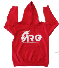 ARG Red Hooded Sweatshirt