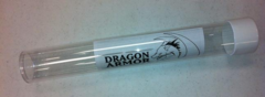 Dragon Armor Playmat Tube with White Cap (2'' dia / 14'' length) on Channel Fireball