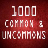1000 Common/Uncommon  (English)