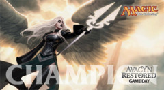 Avacyn Restored Game Day Champion Play Mat Magic the Gathering