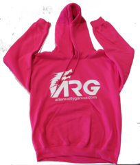 ARG Pink Hooded Sweatshirt
