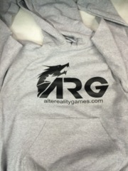 ARG Gray Hooded Sweatshirt