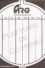 ARG Scorepad Black