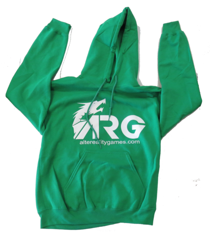 ARG Irish Green Hooded Sweatshirt