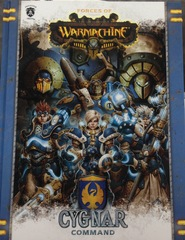 Warmachine: Forces of Warmachine - Cygnar Command Hardcover