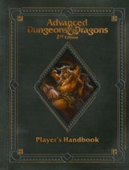 AD&D 2E Player's Handbook (Limited Edition Premium Covered)