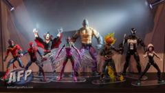 Marvel Legends SDCC 2016