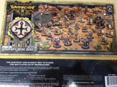Protectorate of Menoth Army Box 2017