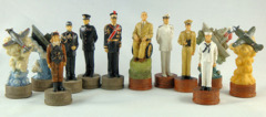 World War II Chess Set - Pearl Harbor
