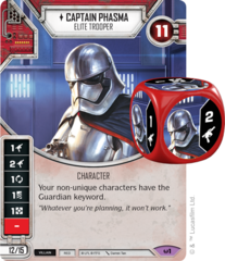 Captain Phasma - Elite Trooper (Sold with matching Die)