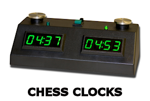 Zmf ii digital chess clock- black_green
