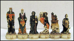 Dark World Gothic Chess Set