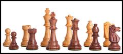 Classic Series Chess Set in Ebonized Boxwood - 3
