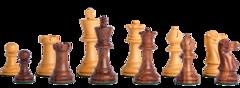 Grandmaster Series Chess Set in Sheesham - 3.25