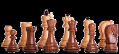 Zagreb '59 Series Chess Set in Sheesham - 3.875