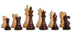 Classic Series Chess Set in Rosewood - 3.75